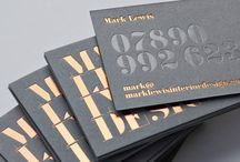 Business Card Ideas / Let your business card be your handshake! I love all of the unique ideas I see from designers and print shops, so I collect them here.