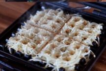 Waffle Iron Obsession / So we got a waffle iron because we wanted to make waffles... but then we found out you can make all kinds of other crazy things on a waffle maker! However... many of them are not as easy as the photos make them look! / by Jessika Feltz | Jupiter and Juno