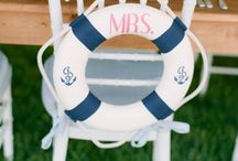 Nautical Weddings / Nautical weddings are always in style! It's the perfect fit for your lakeside wedding at the dock! / by Jessika Feltz | Jupiter and Juno