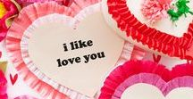 Valentine's Day / Valentine, Valentine DIY, Valentine printables, Valentine's Day party ideas