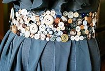 Wear your Buttons / Buttons Galore presents projects featuring buttons on clothing, hats, doll clothes and more. Wear your buttons!