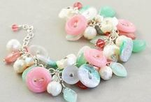 Button Jewelry / Create fun and easy jewelry with Buttons Galore buttons and findings.