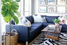 Living Rooms <3 / by Natalie Curtis