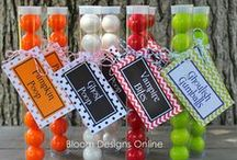 Printed Labels with Treats