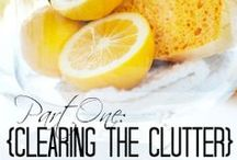 Cleaning and Tips / by Natalie Curtis