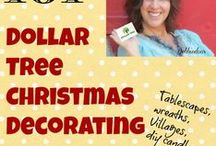 Dollar Tree Christmas Craft And Gift Ideas.  Just click on the Link for directions