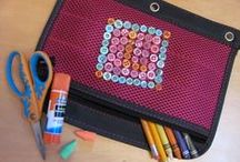 Back to School crafts / Great crafting ideas using buttons for back to school!