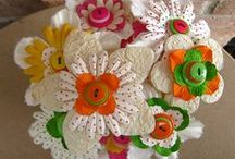Spring Crafts with Buttons / Button crafts for Easter and spring!  / by Buttons Galore and More