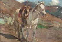Cowboy and Western Art / John Moran Auctioneers Fine Art highlights form our biannual California and American Fine Art Auctions