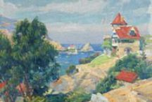 Catalina Island CA / John Moran Auctioneers  Altadena Ca Selling California and American Fine Art at auction