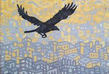 Frank Perrelli Paintings & Screen Prints / Original artwork, created in Baltimore, Maryland.