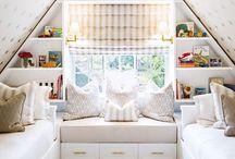 kids rooms/playrooms