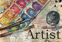 Art Journal Inspiration / by Bonna Shook