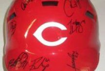 Cincinnati Reds Autographed Baseball Collectibles / Welcome to my selection of autographed Cincinnati Reds baseballs and more. We at Southwestconnection-Memorabilia offer a wide variety of autographed MLB collectibles including Baseballs, Bats, Batting Helmets, Bases, Pitching Rubbers and more!! Please check out my website: www.AutographedwithProof.com  for additional autographed memorabilia, including MLB, NFL, NHL, NBA and more! All items include photographic proof of our encounter with the athlete to insure authenticity!