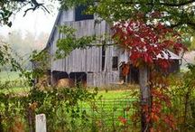 "Old barns I love... / by Carole    "" Weezer "" Parker"