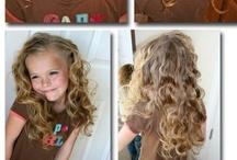 girls hair styles / by Rosie V