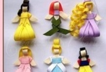 DIY bows & accessories / ideas for bows, hats and any other hair accessories for little girls / by Rosie V