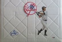 New York Yankees Autographed Baseball Collectibles / Welcome to my selection of autographed New York Yankees baseballs and more. We at Southwestconnection-Memorabilia offer a wide variety of autographed MLB collectibles including Baseballs, Bats, Batting Helmets, Bases, Pitching Rubbers and more!! Please check out my website: www.AutographedwithProof.com for additional autographed memorabilia, including MLB, NFL, NHL, NBA and more! All items include photographic proof of our encounter with the athlete to insure authenticity!
