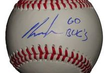 Pittsburgh Pirates Autographed Baseball Collectibles / Welcome to my selection of autographed PIttsburgh Pirates baseballs and more. We at Southwestconnection-Memorabilia offer a wide variety of autographed MLB collectibles including Baseballs, Bats, Batting Helmets, Bases, Pitching Rubbers and more!! Please check out my website: www.AutographedwithProof.com for additional autographed memorabilia, including MLB, NFL, NHL, NBA and more! All items include photographic proof of our encounter with the athlete to insure authenticity!