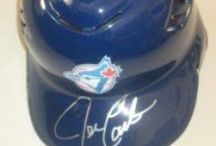 Toronto Blue Jays Autographed Baseball Collectibles / Welcome to my selection of autographed Toronto Blue Jays baseballs and more. We at Southwestconnection-Memorabilia offer a wide variety of autographed MLB collectibles including Baseballs, Bats, Batting Helmets, Bases, Pitching Rubbers and more!! Please check out my website: www.AutographedwithProof.com for additional autographed memorabilia, including MLB, NFL, NHL, NBA and more! All items include photographic proof of our encounter with the athlete to insure authenticity!