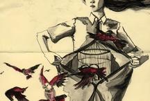 Sketchbook/Art Journal / by Vasiliki Kypraiou