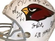 Arizona Cardinals Autographed Football Collectibles / Welcome to my selection of autographed Arizona Cardinals footballs & more. Southwestconnection-Memorabilia offers a wide variety of autographed NFL collectibles including Footballs, Full Size Helmets, Mini Helmets, Jerseys, Pylons & Lithos! Please check out my website: www.AutographedwithProof.com for additional autographed memorabilia, including MLB, NFL, NHL, NBA and more! All items include photographic proof of our encounter with the athlete to insure authenticity!