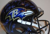 Baltimore Ravens Autographed Football Collectibles / Welcome to my selection of autographed Baltimore Ravens footballs & more. Southwestconnection-Memorabilia offers a wide variety of autographed NFL collectibles including Footballs, Full Size Helmets, Mini Helmets, Jerseys, Pylons & Lithos! Please check out my website: www.AutographedwithProof.com for additional autographed memorabilia, including MLB, NFL, NHL, NBA and more! All items include photographic proof of our encounter with the athlete to insure authenticity!