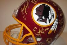 Washington Redskins Autographed Football Collectibles / Welcome to my selection of autographed Washington Redskins footballs & more. We at Southwestconnection-Memorabilia offer a wide variety of autographed NFL collectibles including Footballs, Full Size Helmets, Mini Helmets, Jerseys, Pylons & Lithos! Please check out my website: www.AutographedwithProof.com for additional autographed memorabilia, including MLB, NFL, NHL, NBA and more! All items include photographic proof of our encounter with the athlete to insure authenticity!