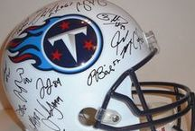 Tennessee Titans Autographed Football Collectibles / Welcome to my selection of autographed Tennessee Titans footballs & more. We at Southwestconnection-Memorabilia offer a wide variety of autographed NFL collectibles including Footballs, Full Size Helmets, Mini Helmets, Jerseys, Pylons & Lithos! Please check out my website: www.AutographedwithProof.com for additional autographed memorabilia, including MLB, NFL, NHL, NBA and more! All items include photographic proof of our encounter with the athlete to insure authenticity!