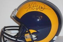 Los Angeles Rams Autographed Football Collectibles / Welcome to my selection of autographed Los Angeles / St. Louis Rams footballs & more. We at Southwestconnection-Memorabilia offer a wide variety of autographed NFL collectibles including Footballs, Full Size Helmets, Mini Helmets, Jerseys, Pylons & Lithos! Please check out my website: www.AutographedwithProof.com for additional autographed memorabilia, including MLB, NFL, NHL, NBA and more! All items include photographic proof of our encounter with the athlete to insure authenticity!