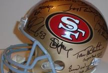 San Francisco 49ers Autographed Football Collectibles / Welcome to my selection of autographed San Francisco 49ers footballs & more. We at Southwestconnection-Memorabilia offer a wide variety of autographed NFL collectibles including Footballs, Full Size Helmets, Mini Helmets, Jerseys, Pylons & Lithos! Please check out my website: www.AutographedwithProof.com for additional autographed memorabilia, including MLB, NFL, NHL, NBA and more! All items include photographic proof of our encounter with the athlete to insure authenticity!