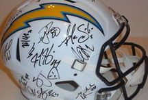 Los Angeles Chargers Autographed Football Collectibles / Welcome to my selection of autographed Los Angeles Chargers footballs & more. We at Southwestconnection-Memorabilia offer a wide variety of autographed NFL collectibles including Footballs, Full Size Helmets, Mini Helmets, Jerseys, Pylons & Lithos! Please check out my website: www.AutographedwithProof.com for additional autographed memorabilia, including MLB, NFL, NHL, NBA and more! All items include photographic proof of our encounter with the athlete to insure authenticity!
