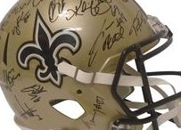New Orleans Saints Autographed Football Collectibles / Welcome to my selection of autographed New Orleans Saints footballs & more. We at Southwestconnection-Memorabilia offer a wide variety of autographed NFL collectibles including Footballs, Full Size Helmets, Mini Helmets, Jerseys, Pylons & Lithos! Please check out my website: www.AutographedwithProof.com for additional autographed memorabilia, including MLB, NFL, NHL, NBA and more! All items include photographic proof of our encounter with the athlete to insure authenticity!