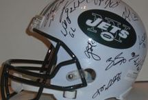 New York Jets Autographed Football Collectibles / Welcome to my selection of autographed New York Jets footballs & more. We at Southwestconnection-Memorabilia offer a wide variety of autographed NFL collectibles including Footballs, Full Size Helmets, Mini Helmets, Jerseys, Pylons & Lithos! Please check out my website: www.AutographedwithProof.com for additional autographed memorabilia, including MLB, NFL, NHL, NBA and more! All items include photographic proof of our encounter with the athlete to insure authenticity!