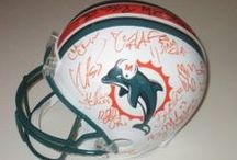 Miami Dolphins Autographed Football Collectibles / Welcome to my selection of autographed Miami Dolphins footballs & more. We at Southwestconnection-Memorabilia offer a wide variety of autographed NFL collectibles including Footballs, Full Size Helmets, Mini Helmets, Jerseys, Pylons & Lithos! Please check out my website: www.AutographedwithProof.com for additional autographed memorabilia, including MLB, NFL, NHL, NBA and more! All items include photographic proof of our encounter with the athlete to insure authenticity!