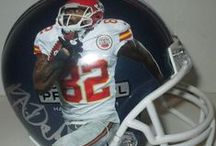 Kansas City Chiefs Autographed Football Collectibles / Welcome to my selection of autographed Kansas City Chiefs footballs & more. We at Southwestconnection-Memorabilia offer a wide variety of autographed NFL collectibles including Footballs, Full Size Helmets, Mini Helmets, Jerseys, Pylons & Lithos! Please check out my website: www.AutographedwithProof.com for additional autographed memorabilia, including MLB, NFL, NHL, NBA and more! All items include photographic proof of our encounter with the athlete to insure authenticity!