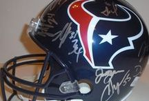 Houston Texans Autographed Football Collectibles / Welcome to my selection of autographed Houston Texans footballs & more. We at Southwestconnection-Memorabilia offer a wide variety of autographed NFL collectibles including Footballs, Full Size Helmets, Mini Helmets, Jerseys, Pylons & Lithos! Please check out my website: www.AutographedwithProof.com for additional autographed memorabilia, including MLB, NFL, NHL, NBA and more! All items include photographic proof of our encounter with the athlete to insure authenticity!