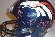 Denver Broncos Autographed Football Collectibles / Welcome to my selection of autographed Denver Broncos footballs & more. We at Southwestconnection-Memorabilia offer a wide variety of autographed NFL collectibles including Footballs, Full Size Helmets, Mini Helmets, Jerseys, Pylons & Lithos! Please check out my website: www.AutographedwithProof.com for additional autographed memorabilia, including MLB, NFL, NHL, NBA and more! All items include photographic proof of our encounter with the athlete to insure authenticity!