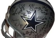 Dallas Cowboys Autographed Football Collectibles / Welcome to my selection of autographed Dallas Cowboys footballs & more. We at Southwestconnection-Memorabilia offer a wide variety of autographed NFL collectibles including Footballs, Full Size Helmets, Mini Helmets, Jerseys, Pylons & Lithos! Please check out my website: www.AutographedwithProof.com for additional autographed memorabilia, including MLB, NFL, NHL, NBA and more! All items include photographic proof of our encounter with the athlete to insure authenticity!