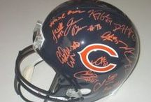 Chicago Bears Autographed Football Collectibles / Welcome to my selection of autographed Chicago Bears footballs & more. We at Southwestconnection-Memorabilia offer a wide variety of autographed NFL collectibles including Footballs, Full Size Helmets, Mini Helmets, Jerseys, Pylons & Lithos! Please check out my website: www.AutographedwithProof.com for additional autographed memorabilia, including MLB, NFL, NHL, NBA and more! All items include photographic proof of our encounter with the athlete to insure authenticity!