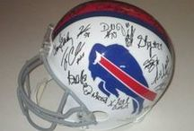 Buffalo Bills Autographed Football Collectibles / Welcome to my selection of autographed Buffalo Bills  footballs & more. We at Southwestconnection-Memorabilia offer a wide variety of autographed NFL collectibles including Footballs, Full Size Helmets, Mini Helmets, Jerseys, Pylons & Lithos! Please check out my website: www.AutographedwithProof.com for additional autographed memorabilia, including MLB, NFL, NHL, NBA and more! All items include photographic proof of our encounter with the athlete to insure authenticity!