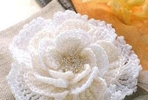 crochet flowers and appliques / by Heather Gates Gunter