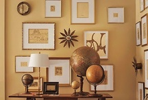 Photo Gallery Walls / Unique Photo Gallery Walls with canvas and how to display photos in groups.