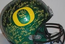 Oregon Ducks Autographed Football Collectibles / Welcome to my selection of autographed Oregon Ducks footballs & more. We at Southwestconnection-Memorabilia offer a wide variety of autographed NCAA collectibles including Footballs, Full Size Helmets, Mini Helmets, Jerseys, Pylons & Lithos! Please check out my website: www.AutographedwithProof.com for additional autographed memorabilia, including MLB, NFL, NHL, NBA and more! All items include photographic proof of our encounter with the athlete to insure authenticity!