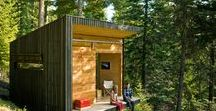 Dreamy Cabins / Our favorite woodsy getaways