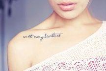 ink \\ piercings / by Mahsa Dinyari