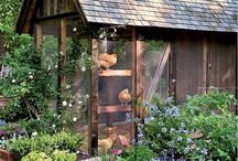 Garden, Greenhouse, Chicken Coop, Bees... / by Lacey Bailey
