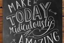 Chalkboard ~ how to & ideas