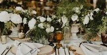 Weddings We Love / Plan a wedding you and your guests will never forget with these inspired ideas for flowers, decorations, destinations, food, wine, and so much more.