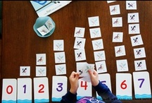letters & numbers  / Letter and Number activities for preschool, kindergarten, the classroom, teachers, parents and homeschool.  / by Jeannine Aristeguieta